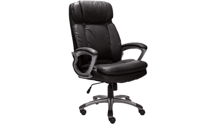 Serta 43675 Tall And Big Executive Chair – Best Bonded Leather Back Chair